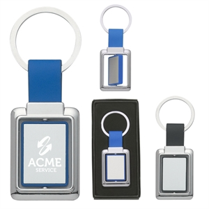 Rectangle metal spinner key