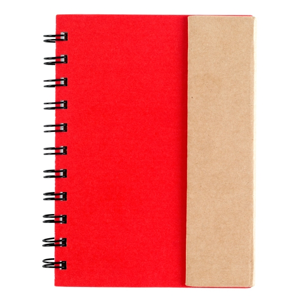 Small spiral notebook with