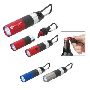 Aluminum LED torch with