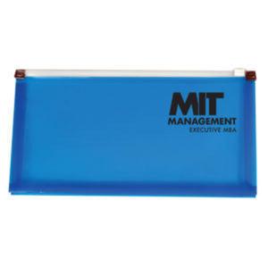 Translucent #10 mini zip