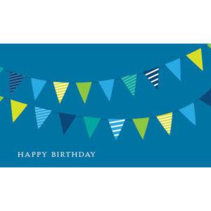 Birthday Garland Birthday Card.