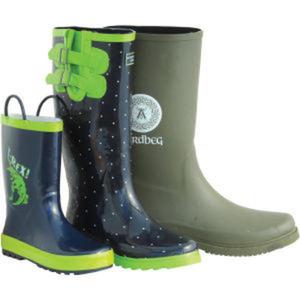 Rain boots handmade with