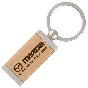 Promotional Wooden Key Tags-FKE
