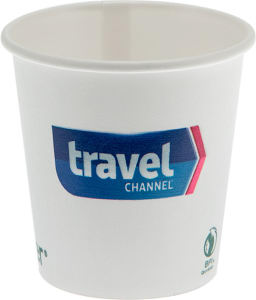 Promotional Paper Cups-D-EPC4-White