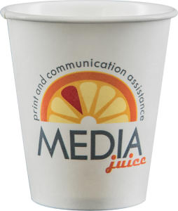 Promotional Paper Cups-D-PC6-White