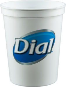 Promotional Stadium Cups-D-ST16-WHITE
