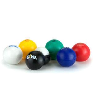 Lip balm ball.