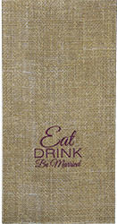 Single-ply, dinner napkins -