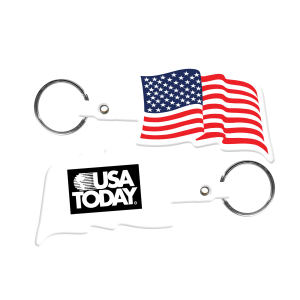 Flexible key tag with