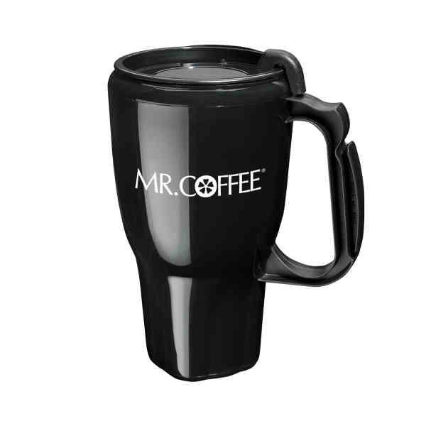 Double insulated mug with