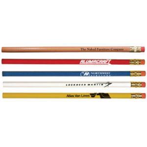 Cedar pencil with brass