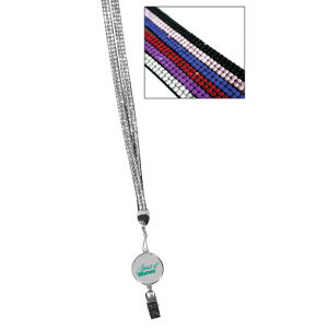 Lanyard with medallion.