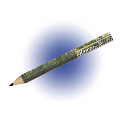 Golf pencil made of