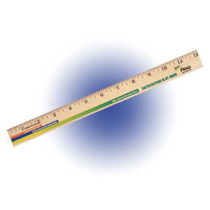 Promotional Rulers/Yardsticks, Measuring-80-92412