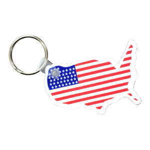 Promotional Plastic Keychains-27985