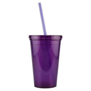 Promotional Drinking Glasses-D-DW10-Purple
