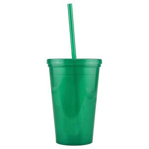 Promotional Drinking Glasses-D-DW10-Green