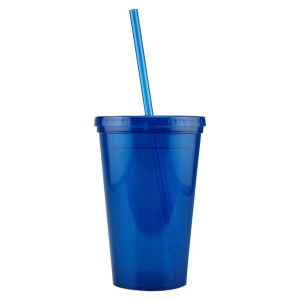 Promotional Drinking Glasses-D-DW10-Blue