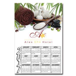 Calendar magnet approx. .025