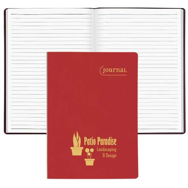Flexhide covered journal with