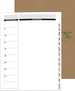 Monthly PerfectPlanner (TM) The