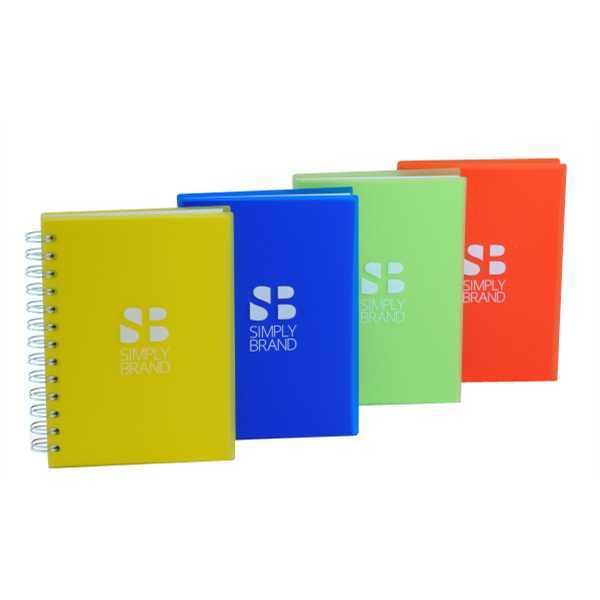 Spiral-bound journal with 100