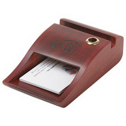 Biz-Card/Memo Pad holder &