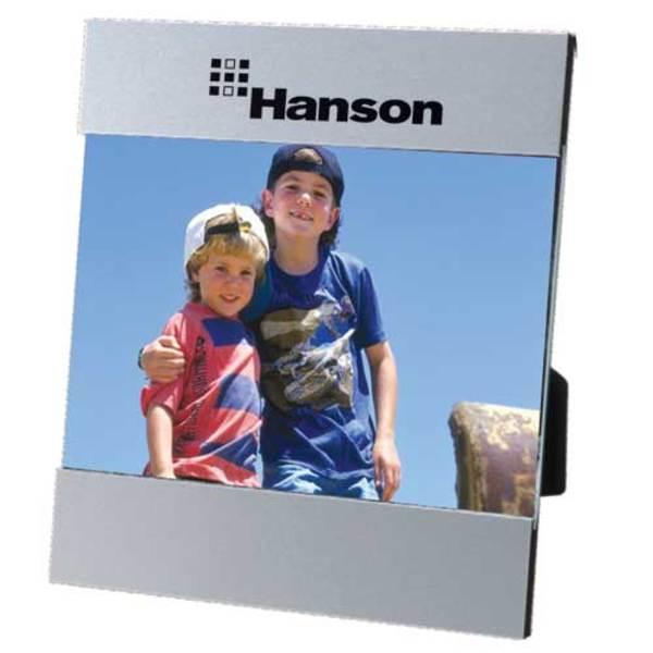 Metal frame with slide