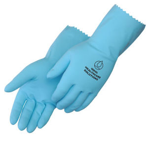 Light blue latex unsupported