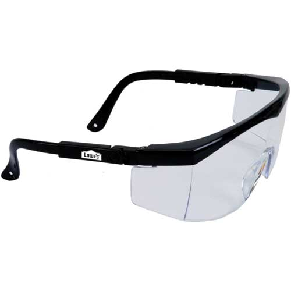 Large Single-Lens Safety Glasses