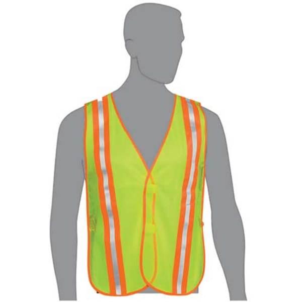 Lime Mesh Safety Vest