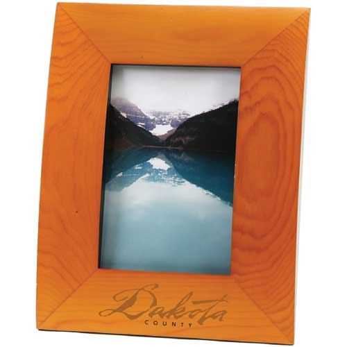 Solid wood frame in