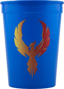 Promotional Stadium Cups-D-ST12-Blue