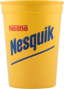 Promotional Stadium Cups-D-ST12-Yellow