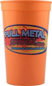 Promotional Stadium Cups-D-ST22-Orange