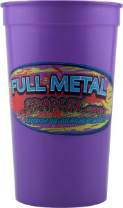 Promotional Stadium Cups-D-ST22-Purple