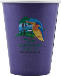 Promotional Paper Cups-D-PC9-Purple