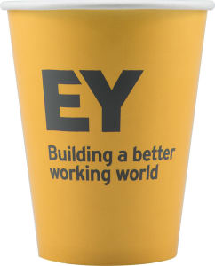 Promotional Paper Cups-T-PC9-Yellow