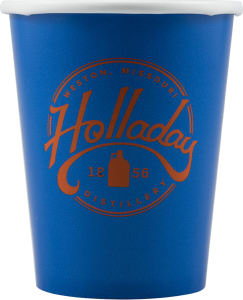 Promotional Paper Cups-T-PC9-Blue
