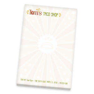 Promotional Jotters/Memo Pads-NS4A6A25