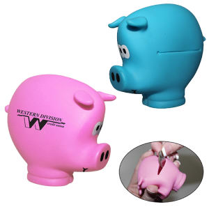 Pocket piggy coin holder.