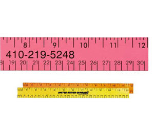 Promotional Rulers/Yardsticks, Measuring-94512