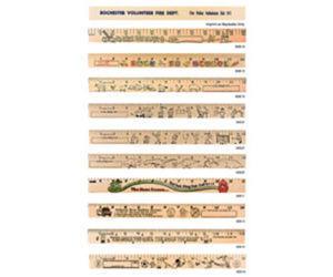 Promotional Rulers/Yardsticks, Measuring-90611