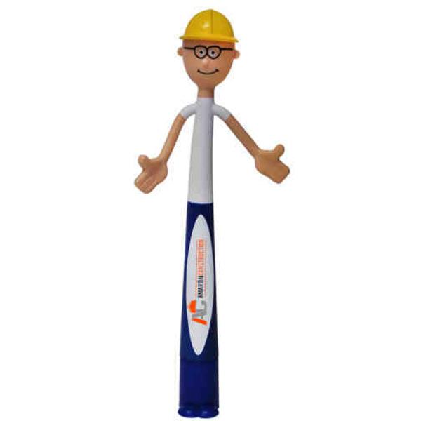 Safety Bend-A-Pen.