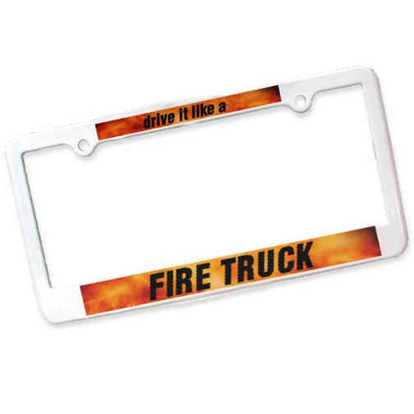 License plate frame, 2
