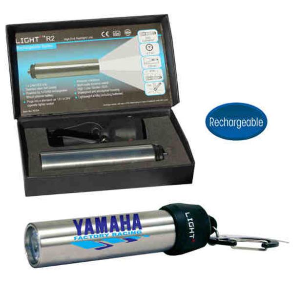 LED flashlight with 200