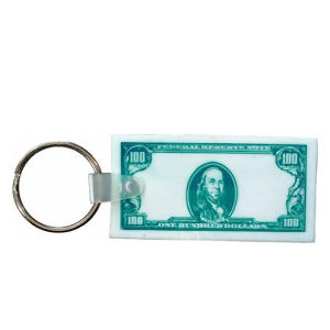 Currency key fob.