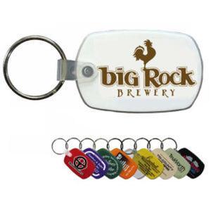 Promotional Plastic Keychains-27060