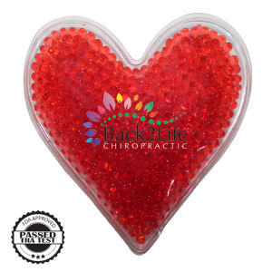 Heart shape gel bead