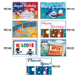 Promotional Post Cards-PC401-PC121
